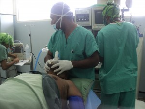 Anaesthetic training - Alotau